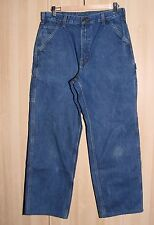 Carhartt Blue Jeans 34x34 Original Fit Washed Duck Work Dungaree 2 pair