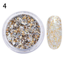 Nail Sequins Glitter Shining Irregular Flakes Red Pigment Nail Art Decoration