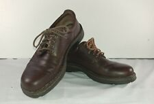 Born Brown Leather Casual Oxfords Shoes Mens Size 9.5M