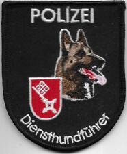 Polizei  BREMEN Diensthundführer Hansestadt  K-9 DHF Abzeichen Patch Hundeführer