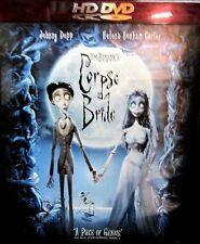 Tim Burtons Corpse Bride HD DVD NEW! Johnny Depp, Helena Bonham-Carter,ROMANCE