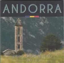 Andorra BU set 2016 / 1 cent - 2 euro KMS