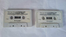 2 CASSETTES INTRODUCTION TO BASIC PART 1 COMMODORE VIC 20 PAL UK.VINTAGE