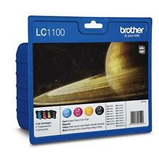 4 Original Brother cartouches LC 1100 Multipack mfc-6890 CDW NEUF encre neuf dans sa boîte