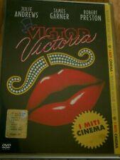Victor Victoria dvd originale edizione ITA I MITI-Julie Andrews PARI AL NUOVO