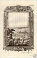 INCISIONE ORIGINALE 1700 RAFFIGURAZIONE BIBLICA
