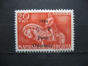 1944 Rumänien - Ungarn-Posta-Odorheiu 20+10/5