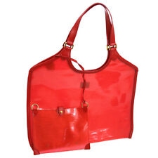 LOUIS VUITTON BAIA HAND TOTE BAG EPI PLAGE VINYL RED M92152 CA1010 AK39008