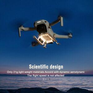 Foldable LED Light Landing Gear Extended Tripod For DJI Mavic Mini/Mini 2 Drone