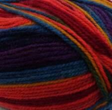 Stylecraft Wondersoft Merry Go Round DK 100g Dark Rainbow Self Striping