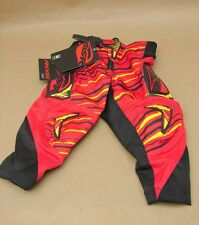 NWT MSR M13 Axxis Youth Y16 Motocross MX Motorcycle Pants Red Yellow