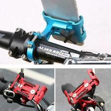 Aluminum Motorcycle Bike Bicycle Holder Mount Mtb Handlebar For Cell Phone J6E5