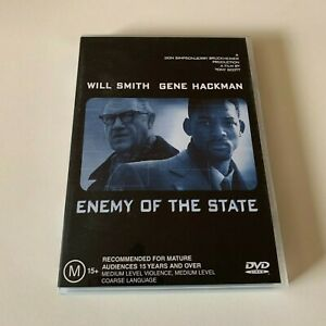 Enemy of the State Will Smith PAL DVD Region 4 FREE POSTAGE