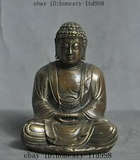 Tibetan Buddhism Fane Joss Bronze Sakyamuni Shakyamuni Tathagata Buddha Statue
