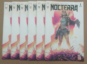 Lot of 6 NOCTERRA #1 Second Printing 2021 Image Comics ( read description )