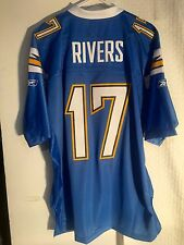 Reebok Premier NFL Jersey Chargers Phillip Rivers Light Blue Alternate sz M