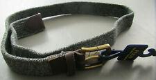 Polo Ralph Lauren Men's Braided Stretch Belt, Gray, Small S