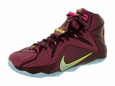 Men's Nike Lebron XII 12 Basketball Shoes Merlot 684593-607 SIZE-11 NEW! NO LID