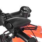 Ultra-loud Speaker Black Electronic Bicycle 6 Sounds Alarm Bell Bike Siren Horn