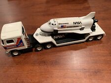 Vintage 1980 Buddy L NASA Space Shuttle Discovery 18 Wheeler Mack Tractor Japan