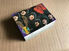 Lot #2  The Beatles Collection  1993 trading cards