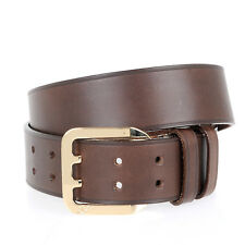 DSQUARED2 D2 New Woman Brown Genuine Leather Buckle Belt Size 85 $256 ITALY Made