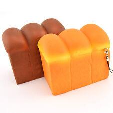 Jumbo Toastbrot Kissen Cartoon Weiche Kinder Spielzeug Handy Straps Brot 1pc