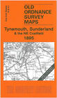 Old Ornance Map Tynemouth, Sunderland & the NE Coalfield 1895 - England Sheet 15