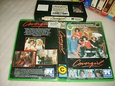 Vhs *COVERGIRL* 1984 Pre Cert RARE Australian 7 KEYS Issue Adult Romantic Drama!