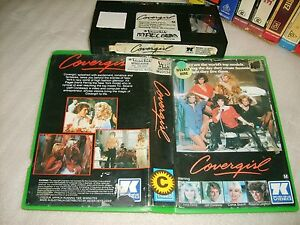 COVERGIRL - 1984 Pre Cert RARE Australian 7 KEYS VHS Early Issue Romantic Drama!