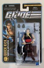 G.I. JOE Pursuit of Cobra QUICK KICK Martial Arts Expert Figure 2010 TRU excl