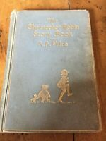 ANTIQUARIAN COLLECTIBLE THE CHRISTOPHER ROBIN STORY BOOK A A MILNE