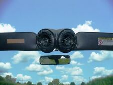 """JEEP PODS BOXES SKY ENCLOSURES WITH POWER KICKER 4"""" SPEAKERS 53179K"""