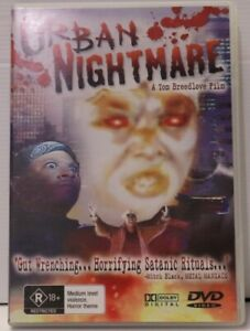 Urban Nightmare - Rare DVD Horror
