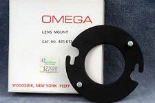 OMEGA B22 LENS MOUNT (LENS BOARD) #421-017 w/39MM HOLE - NOS - FREE SHIPPING
