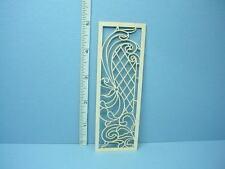 Dollhouse Miniature Decorative Glazed Door Mullion # N-D Laser Creations 1/12th