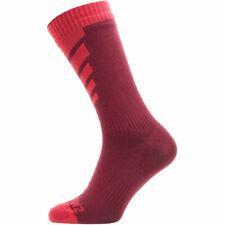 39-42 Sealskinz Socken Warm Weather Mid Length Gr.M Hydrostop neongelb//schwar