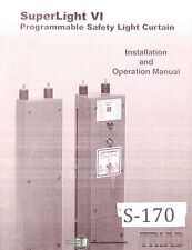 Triad Superlight VI, Safety Light Installation and Operations Manual