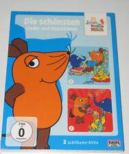 2 DVD SEALED OVP NEU NEW/DIE SENDUNG MIT DER MAUS/JUBILÄUM/DIE SCHÖNSTEN LIEDER