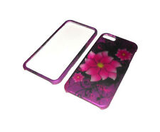 New Highest Rated Flower Plastic 2-Piece Iphone 5 5S Case  BUY ONE GET ONE FREE
