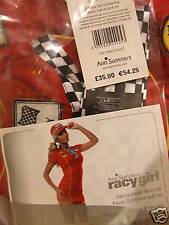 "ANN SUMMERS-RED""SAUCY RACY GIRL"" SIZE 10-12-NEW-RRP £35"