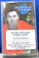 Jermaine Jackson Don't Take It Personal CASSETTE NEW!