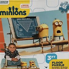 Minions 3 Ft Floor Puzzle 46 Pieces