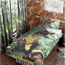 Jurassique Jungle verte Doublure rideaux 183cm goutte