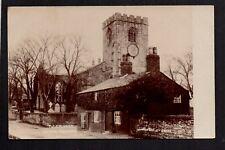 Walton le Dale Church, near Preston - real photographic postcard