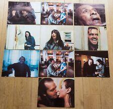 10 PHOTOS D'EXPLOITATION : SHINING de STANLEY KUBRICK  GRAND FORMAT 28cm x 36cm