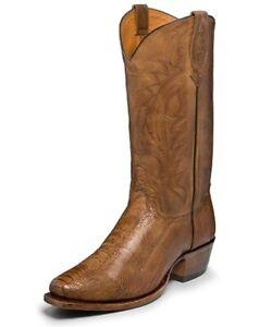 Tony Lama Men's Ostrich Leg Cowboy (TL5301) Size 10.5 D