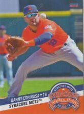 2019 Syracuse Mets Danny Espinosa RC Rookie New York