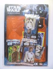 STAR WARS ROGUE ONE 5 PACKETS of TRADING CARDS + 1 LIMITED EDITION CARD