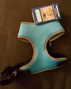 """NWT Blue Casual Canine Reflective Neoprene Harness XS (Chest Size 11-13"""")"""